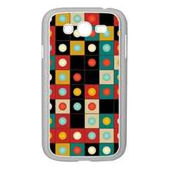 Colors On Black Samsung Galaxy Grand Duos I9082 Case (white) by linceazul