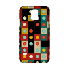 Colors On Black Samsung Galaxy S5 Hardshell Case  by linceazul
