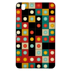 Colors On Black Samsung Galaxy Tab Pro 8 4 Hardshell Case by linceazul
