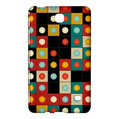 Colors On Black Samsung Galaxy Tab 4 (8 ) Hardshell Case  by linceazul