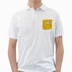 Rat Mouse Cheese Animal Mammal Golf Shirts