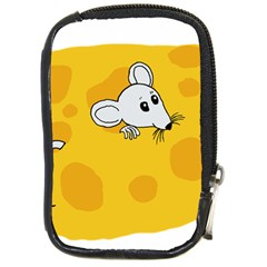 Rat Mouse Cheese Animal Mammal Compact Camera Cases by Nexatart
