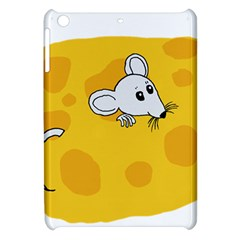 Rat Mouse Cheese Animal Mammal Apple Ipad Mini Hardshell Case by Nexatart
