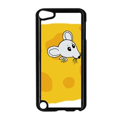Rat Mouse Cheese Animal Mammal Apple Ipod Touch 5 Case (black) by Nexatart