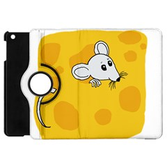 Rat Mouse Cheese Animal Mammal Apple Ipad Mini Flip 360 Case