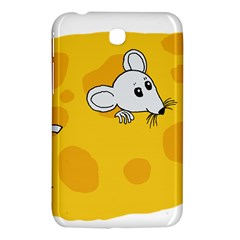 Rat Mouse Cheese Animal Mammal Samsung Galaxy Tab 3 (7 ) P3200 Hardshell Case  by Nexatart