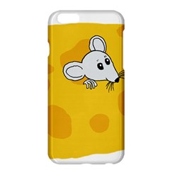Rat Mouse Cheese Animal Mammal Apple Iphone 6 Plus/6s Plus Hardshell Case