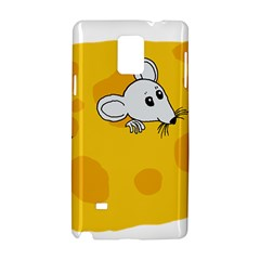 Rat Mouse Cheese Animal Mammal Samsung Galaxy Note 4 Hardshell Case
