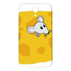 Rat Mouse Cheese Animal Mammal Samsung Galaxy Mega I9200 Hardshell Back Case by Nexatart