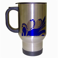 Skunk Animal Still From Travel Mug (silver Gray) by Nexatart