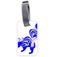 Skunk Animal Still From Luggage Tags (one Side)