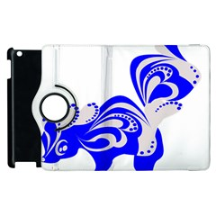 Skunk Animal Still From Apple Ipad 2 Flip 360 Case by Nexatart