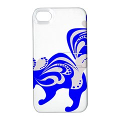 Skunk Animal Still From Apple Iphone 4/4s Hardshell Case With Stand