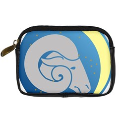 Ram Zodiac Sign Zodiac Moon Star Digital Camera Cases by Nexatart