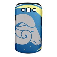 Ram Zodiac Sign Zodiac Moon Star Samsung Galaxy S Iii Classic Hardshell Case (pc+silicone)