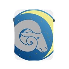Ram Zodiac Sign Zodiac Moon Star Apple Ipad 2/3/4 Protective Soft Cases by Nexatart