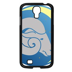 Ram Zodiac Sign Zodiac Moon Star Samsung Galaxy S4 I9500/ I9505 Case (black) by Nexatart