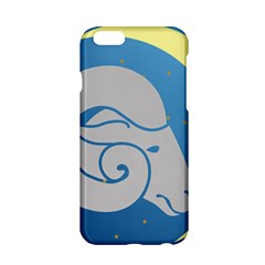 Ram Zodiac Sign Zodiac Moon Star Apple Iphone 6/6s Hardshell Case by Nexatart