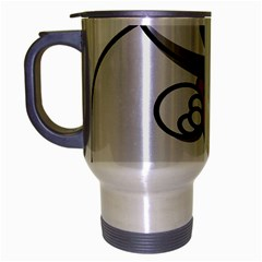 Bear Polar Bear Arctic Fish Mammal Travel Mug (silver Gray) by Nexatart