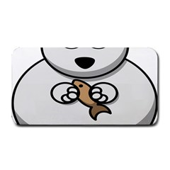 Bear Polar Bear Arctic Fish Mammal Medium Bar Mats