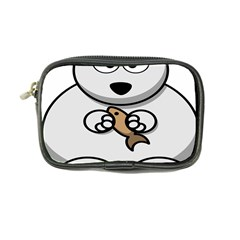 Bear Polar Bear Arctic Fish Mammal Coin Purse by Nexatart
