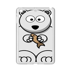 Bear Polar Bear Arctic Fish Mammal Ipad Mini 2 Enamel Coated Cases