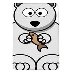 Bear Polar Bear Arctic Fish Mammal Flap Covers (s)  by Nexatart