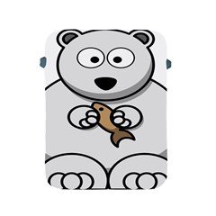 Bear Polar Bear Arctic Fish Mammal Apple Ipad 2/3/4 Protective Soft Cases by Nexatart