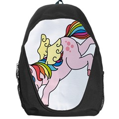 Unicorn Arociris Raimbow Magic Backpack Bag by Nexatart