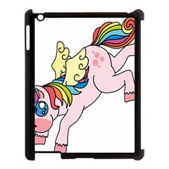 Unicorn Arociris Raimbow Magic Apple Ipad 3/4 Case (black) by Nexatart
