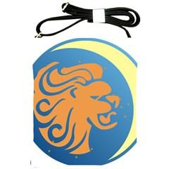 Lion Zodiac Sign Zodiac Moon Star Shoulder Sling Bags by Nexatart
