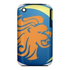 Lion Zodiac Sign Zodiac Moon Star Iphone 3s/3gs by Nexatart