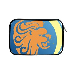 Lion Zodiac Sign Zodiac Moon Star Apple Ipad Mini Zipper Cases by Nexatart