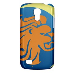 Lion Zodiac Sign Zodiac Moon Star Galaxy S4 Mini