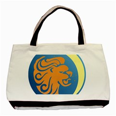 Lion Zodiac Sign Zodiac Moon Star Basic Tote Bag by Nexatart