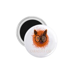 Cat Smart Design Pet Cute Animal 1 75  Magnets by Nexatart