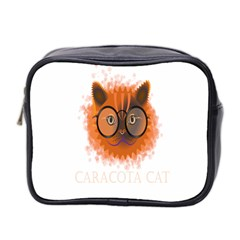 Cat Smart Design Pet Cute Animal Mini Toiletries Bag 2 Side