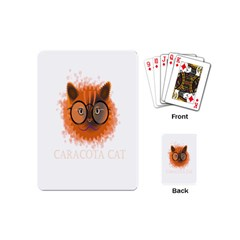 Cat Smart Design Pet Cute Animal Playing Cards (mini)  by Nexatart
