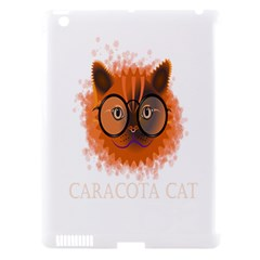 Cat Smart Design Pet Cute Animal Apple Ipad 3/4 Hardshell Case (compatible With Smart Cover) by Nexatart