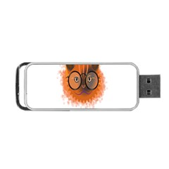 Cat Smart Design Pet Cute Animal Portable Usb Flash (two Sides) by Nexatart