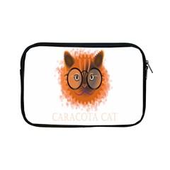 Cat Smart Design Pet Cute Animal Apple Ipad Mini Zipper Cases by Nexatart