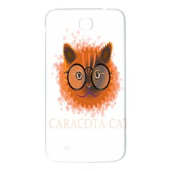 Cat Smart Design Pet Cute Animal Samsung Galaxy Mega I9200 Hardshell Back Case by Nexatart