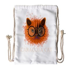 Cat Smart Design Pet Cute Animal Drawstring Bag (large) by Nexatart