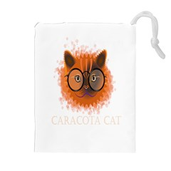 Cat Smart Design Pet Cute Animal Drawstring Pouches (extra Large)