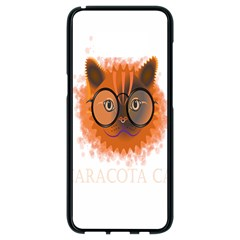 Cat Smart Design Pet Cute Animal Samsung Galaxy S8 Black Seamless Case