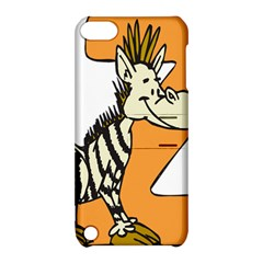 Zebra Animal Alphabet Z Wild Apple Ipod Touch 5 Hardshell Case With Stand by Nexatart