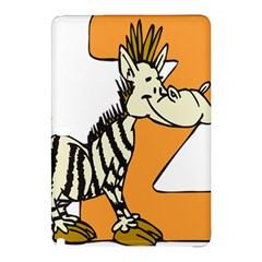 Zebra Animal Alphabet Z Wild Samsung Galaxy Tab Pro 12 2 Hardshell Case by Nexatart