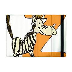Zebra Animal Alphabet Z Wild Ipad Mini 2 Flip Cases by Nexatart