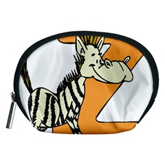 Zebra Animal Alphabet Z Wild Accessory Pouches (medium)