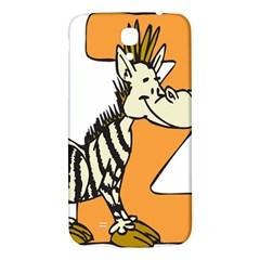 Zebra Animal Alphabet Z Wild Samsung Galaxy Mega I9200 Hardshell Back Case by Nexatart